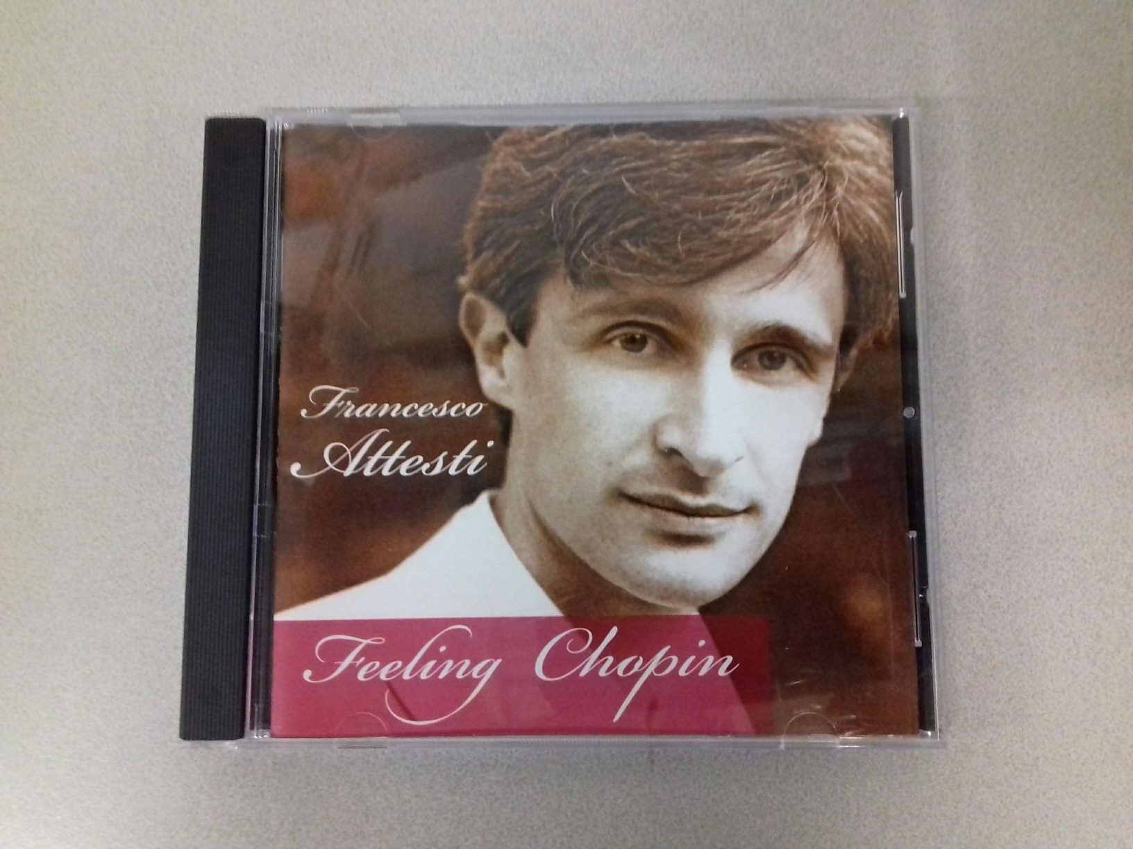 "Duplicazione CD Francesco Attesti ""Feeling Chopin"""