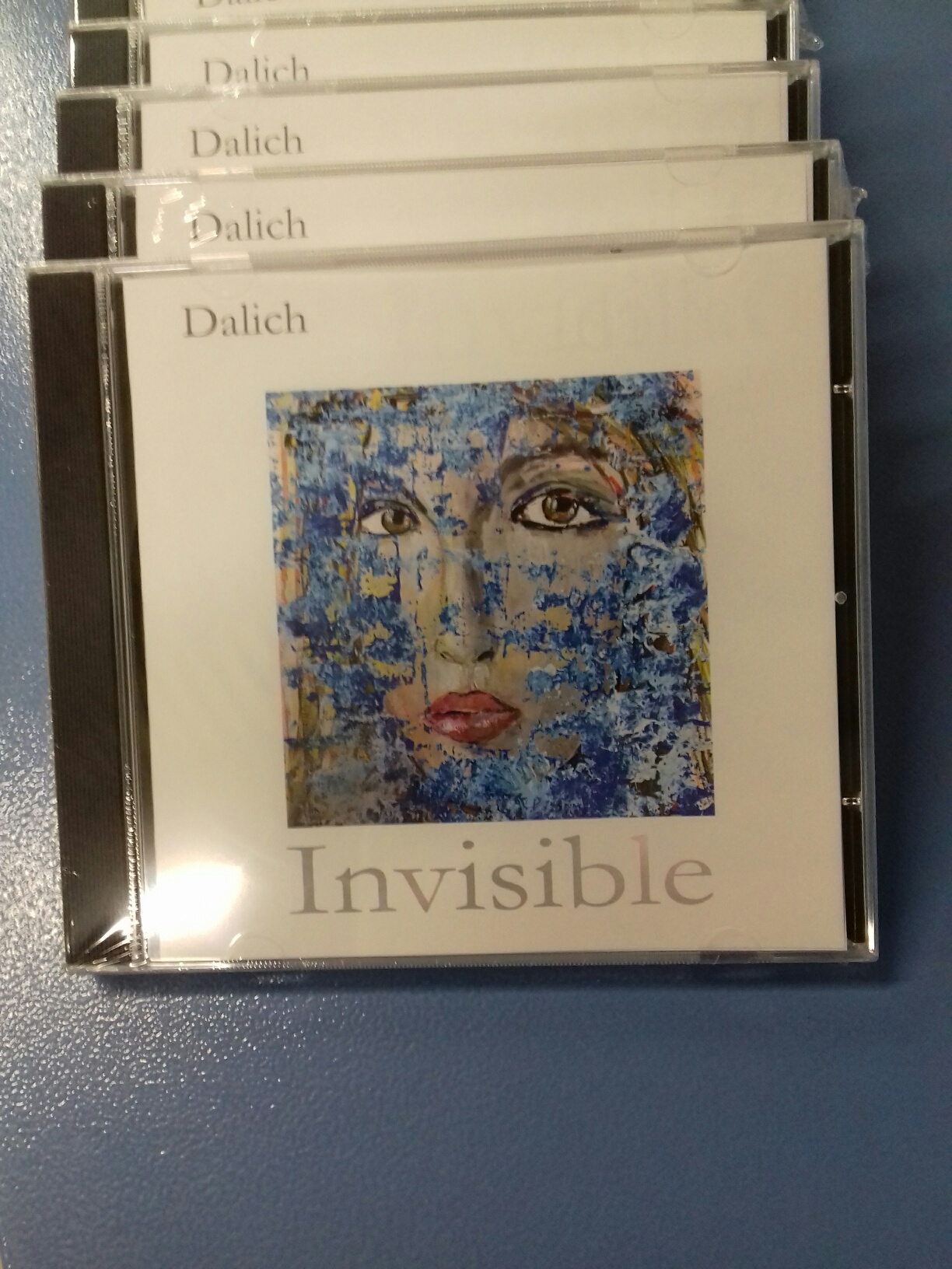 "Stampa CD ""Invisible"" by Dalich"