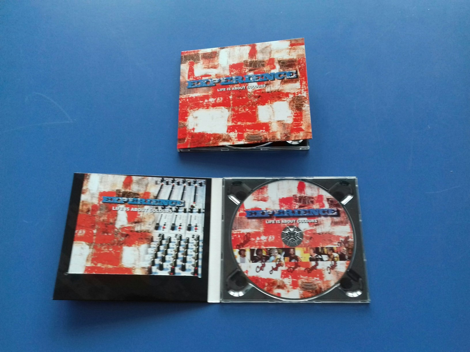 "Duplicazione CD Experience ""Life is about colours"""