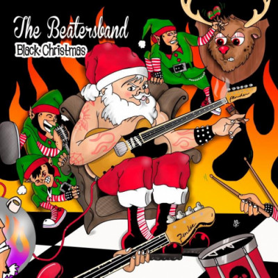 "Stampa CD ""Black Christmas EP"" The Beatersband"